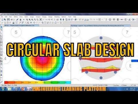 Detailing and Design of RCC Circular Slab using Etabs tutorial thumbnail
