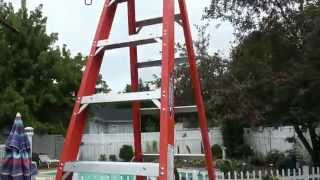 Werner 10 foot fiberglass step ladder REVIEW - Model NXT1A10
