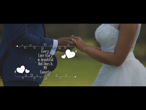 Edwin & Angelina Wedding Highlights | Tanzania Wedding