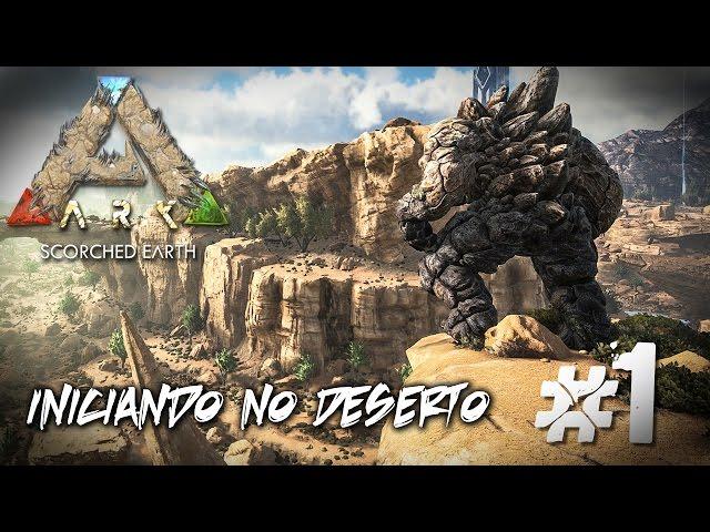 Ark Scorched Earth - Sobrevivendo no Deserto Árido