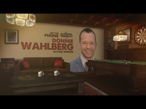 Actor/Musician Donnie Wahlberg Bleeds Celtic Green | The Dan Patrick Show | 6/14/2017
