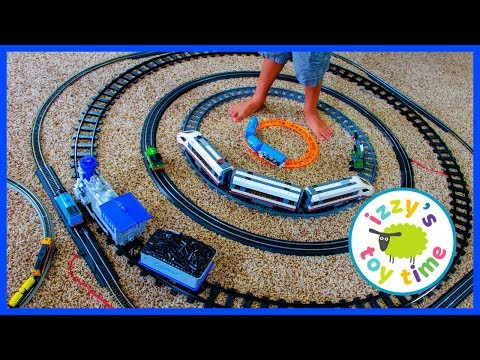 YOU WON\'T BELIEVE HOW MANY TOY TRAINS WE HAVE!