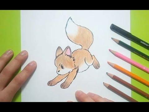 Como Dibujar Un Zorro Paso A Paso 2 How To Draw A Fox 2 Youtube