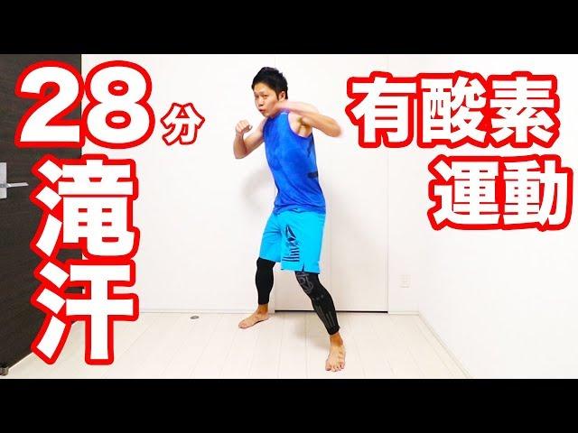 【28分】滝汗グーパンチ有酸素運動!嫌でも必ず痩せるやーつ! | Muscle Watching