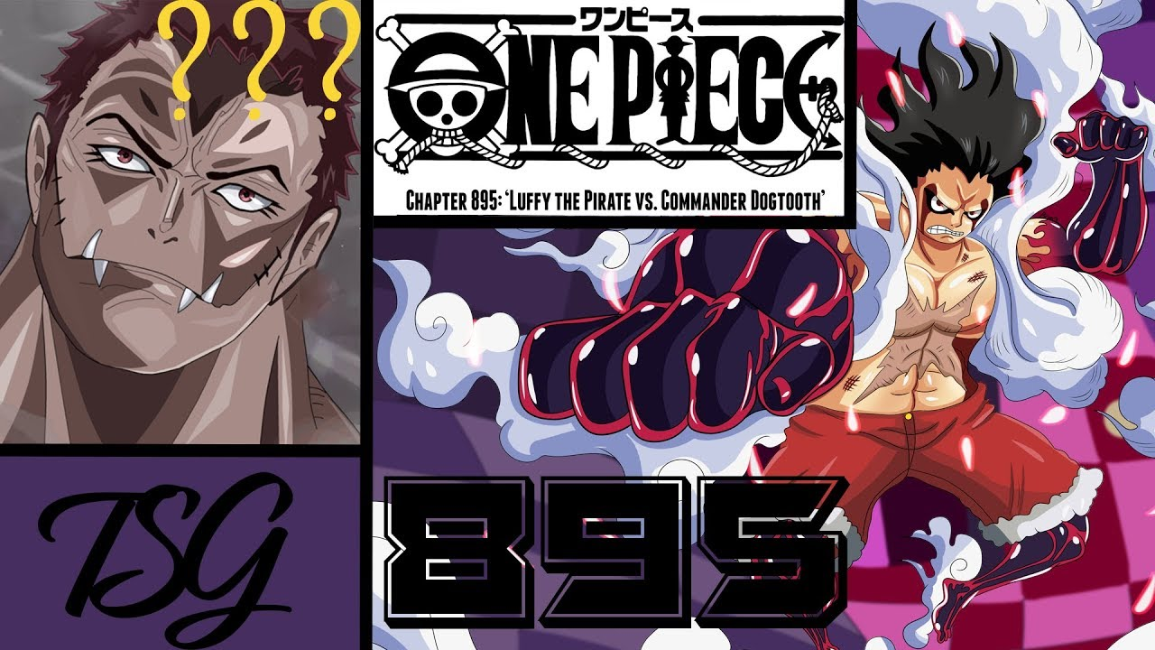 One Piece: 895 Chapter TSG review - YouTube