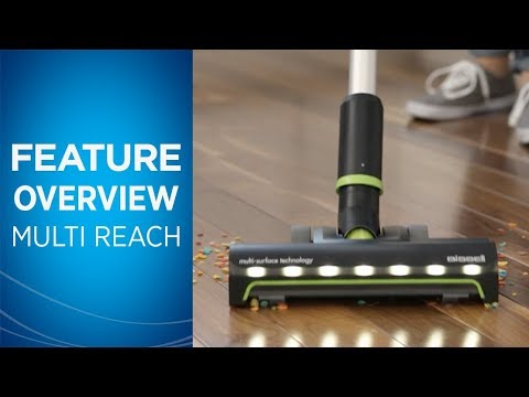 How to use Multi Reach Cordless Stick Vacuum | BISSELL