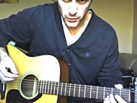 Steve Moakler - Hesitate guitar tutorial/lesson - YouTube