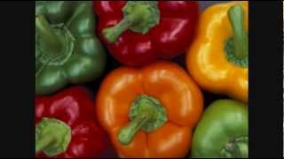 Decoding the Myth-- Green,Red,Yellow Bell Peppers
