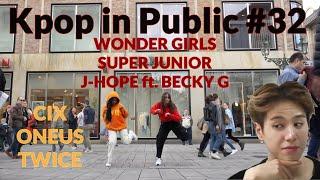 KPOP IN PUBLIC #32 (CIX, WonderGirls, ,SuperJunior, ONEUS, J-HOPE, Twice)