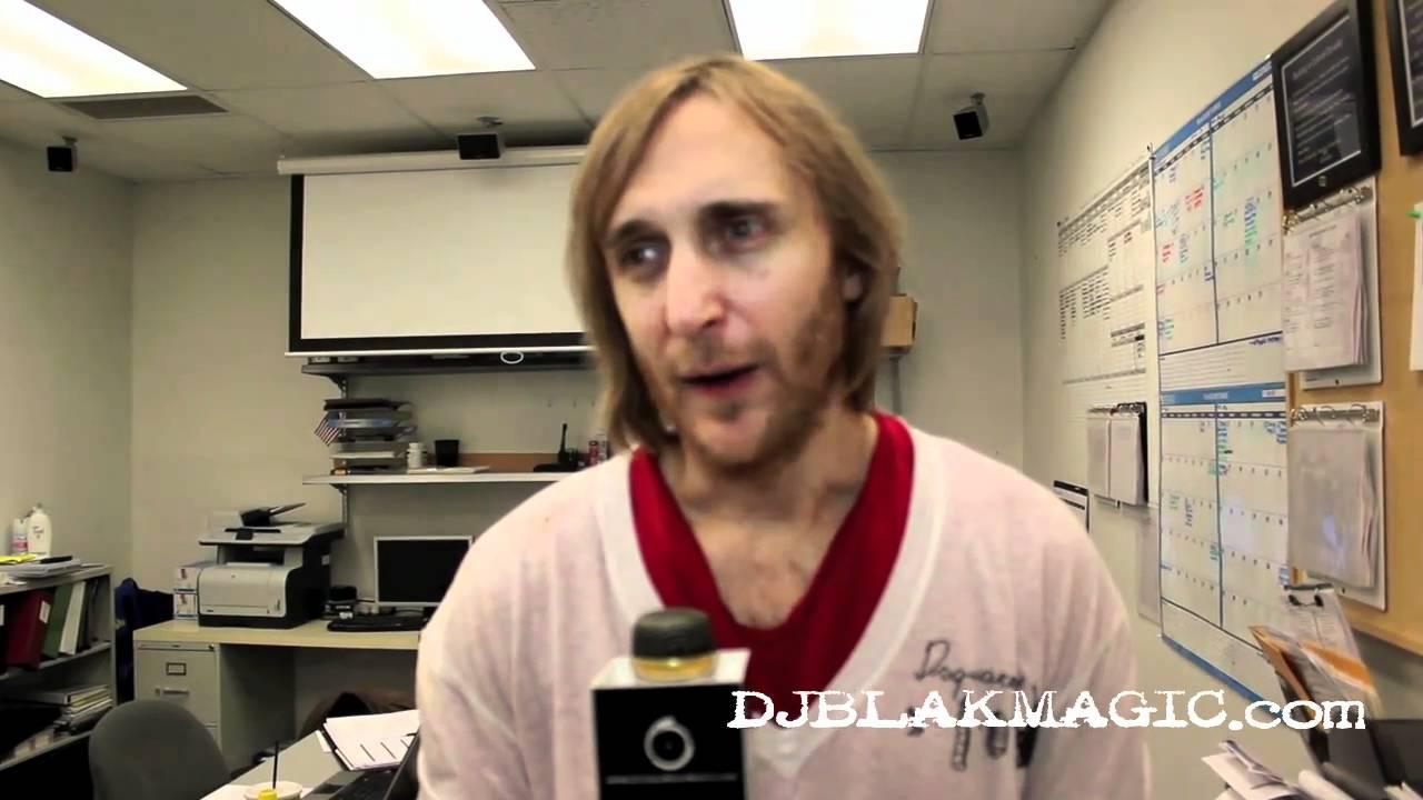 Download DJ BLAK MAGIC Interview With David Guetta