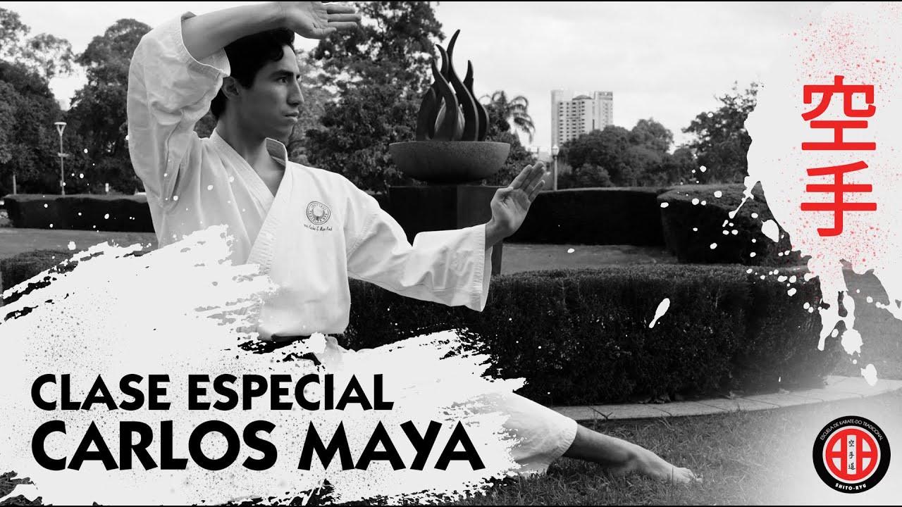 Clips de la clase especial de Karate Do con Carlos Maya en el Dojo Chiluca