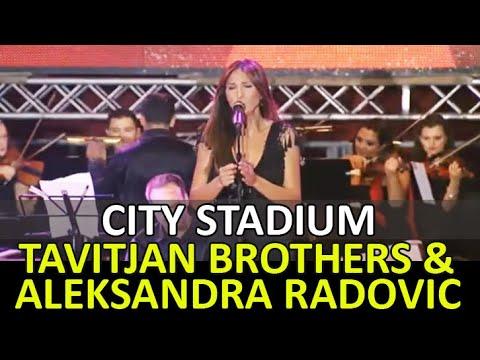 Garo & Tavitjan Brothers ft Aleksandra Radovic - Eleno Kjerko (live@stadium)