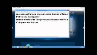 Raidcall download (WINDOWS 8)