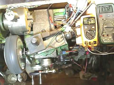 Мотор колесо от гироскутера , замер мощности