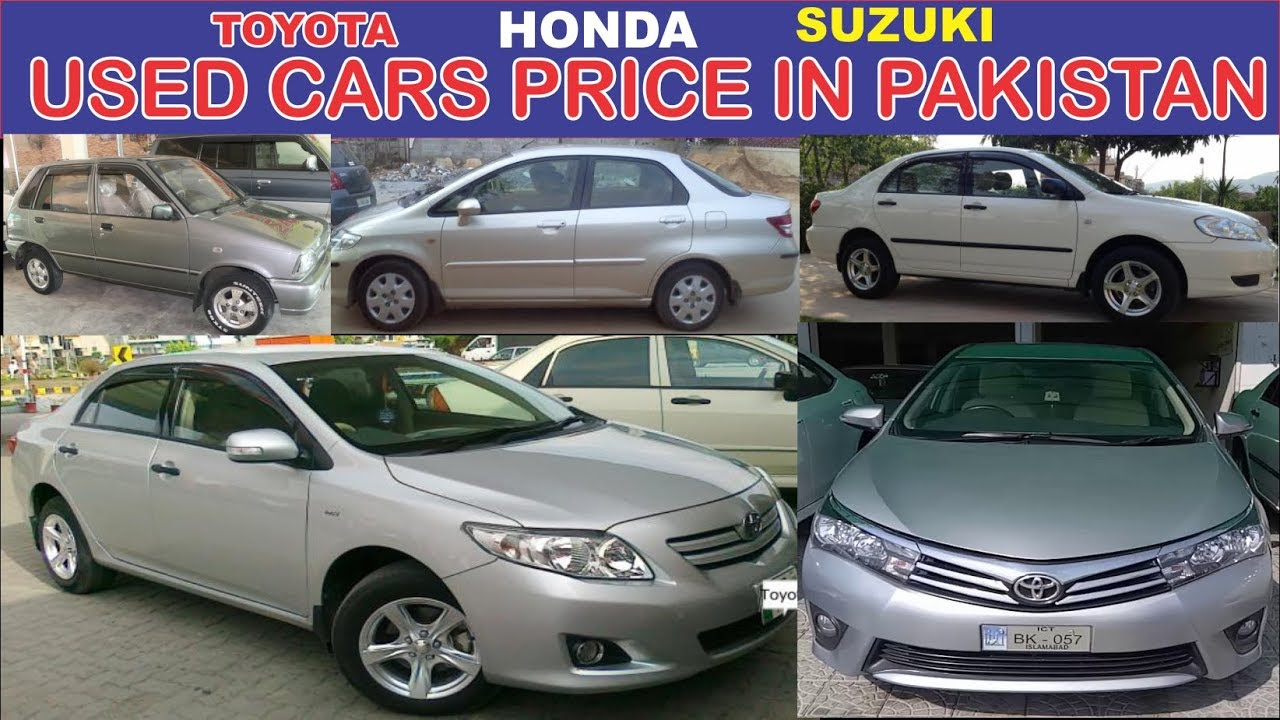 Toyota Honda Suzuki All Used Cars market's and prices