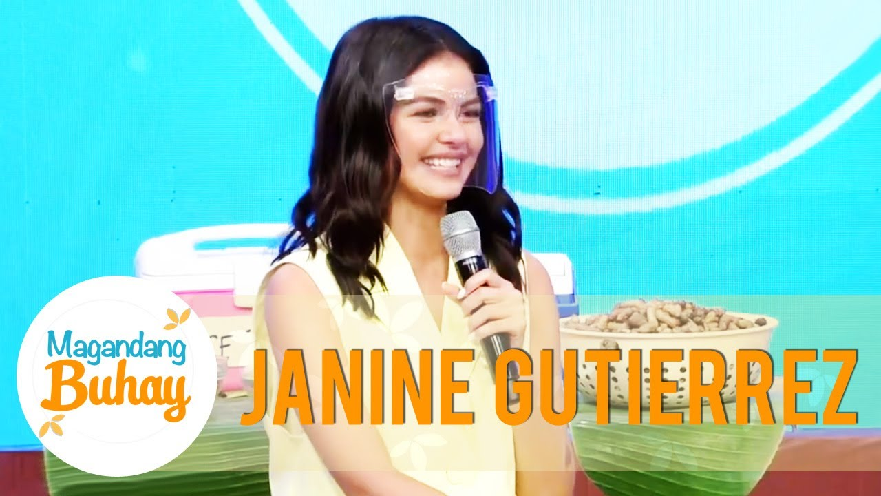 Janine says that she also experienced a simple life | Magandang Buhay