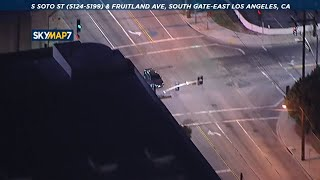 Police chase vehicle in South Gate area  I ABC7