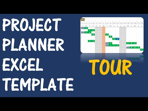 Project Planner (Advanced) - ExcelTemplate - v2 - Product Tour