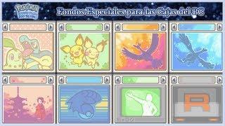 Pokémon Ed. Plata SoulSilver: Tutorial - Desbloquear Fondos Especiales para las Cajas del PC