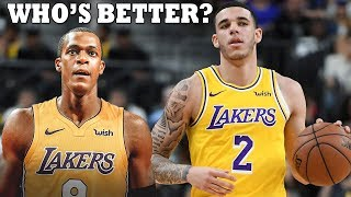 THIS IS WHY LONZO BALL IS BETTER WITH LEBRON THAN RONDO!