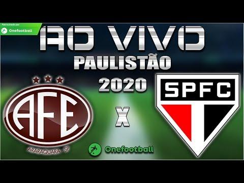 Palmeiras x Oeste Ao Vivo | Paulistão 2020 | 3ª Rodada | Narração