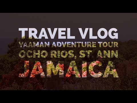 Epic Yaaman Adventure Park Travel Vlog | Jamaica | GoPro Hero 4 HD