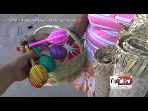 Ventas Ambulantes Artesanias de Nahuizalco