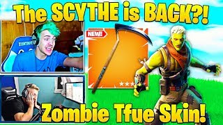 Streamers React to NEW Brainiac Skin and Reaper (SCYTHE) in Shop! - Fortnite Funny Moments
