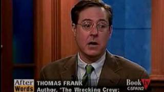 The Wrecking Crew (2), CSPAN, Thomas Frank