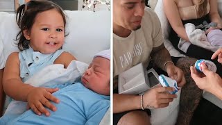 ELLE AND ALAIA MEET STEEL MCBROOM! (ELLE SAD?) (THE ACE FAMILY)