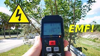 HIGHLY AFFORDABLE Electric Field & EMF Electronic Meter(Wire Tracer)
