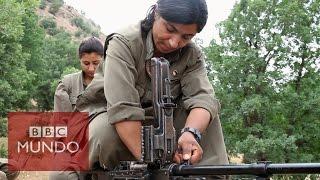 Las mujeres comandantes del PKK que luchan contra Estado Islámico