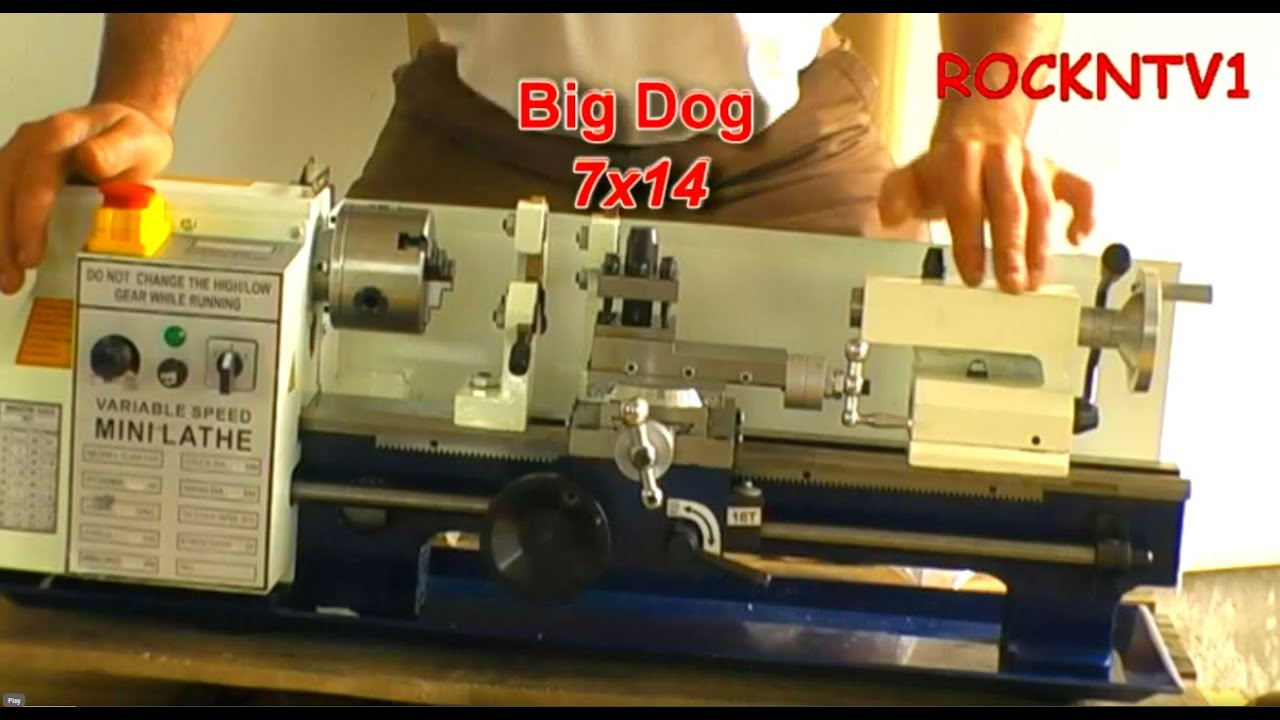 7x14 big dog mini lathe continued youtube Homemade Mini Lathe 7x14 big dog mini lathe continued