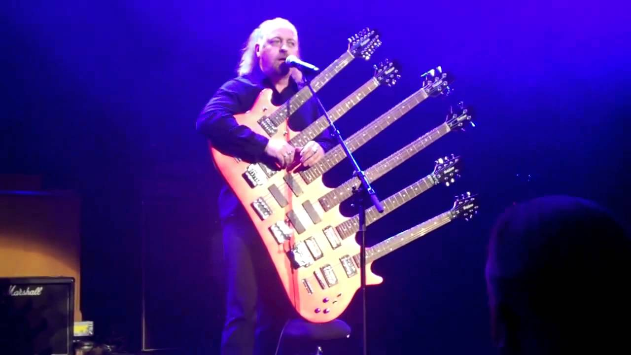 Bill Bailey Playing His 6 Neck Guitar Youtube