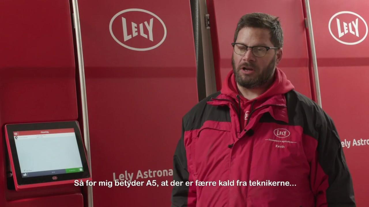Lely Astronaut A5 - Service Compilation (Dansk)