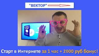 Видео курс Вектор   Старт в Интернете за 1 час  Дмитрий Чернышов