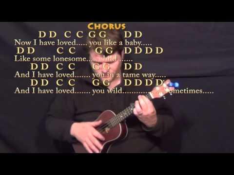 Seven Bridges Road (The Eagles) Ukulele Cover Lesson with Chords/Lyrics