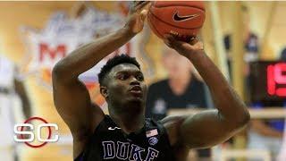 Zion Williamson's biggest weakness is shooting - Mike Schmitz | SportsCenter