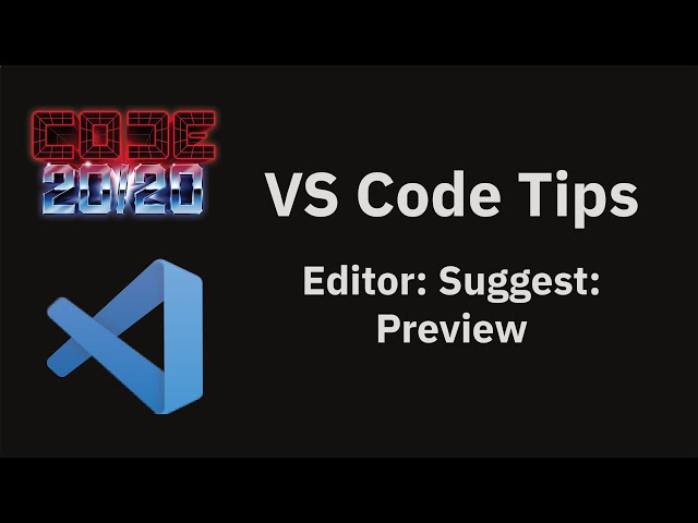 Editor: Suggest: Preview