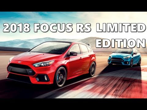 Ford Focus RS Limited Edition (2018)