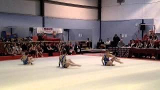 East of Scotland Acro Championship 2013 12-18 Balance Routine Hannah, Rachel and Courtney