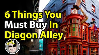 6 Things You Must Buy In Diagon Alley | Rix Top Six