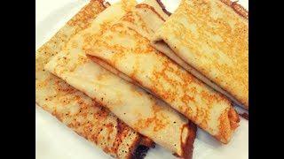 Масленица.Блины на кефире.Тонкие блинчики на кефире. Блины ажурные.pancakes with kefir.Pancakes.