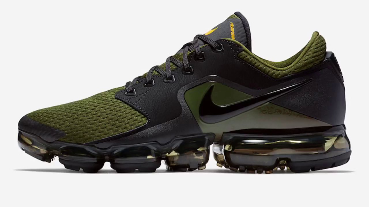 NIKE AIR VAPORMAX CS OLIVE FIRST LOOK LEAKED DETAILED IMAGES - YouTube 5fb95d065