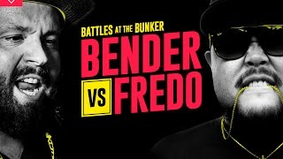 KOTD - Rap Battle - Bender vs Fredo