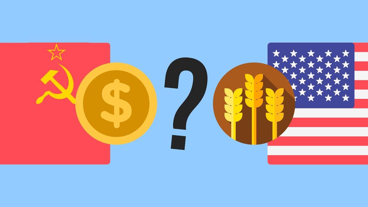 Как СССР стал покупать зерно у США?