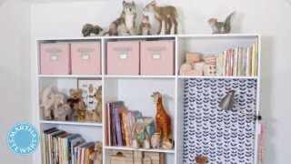 Ask Martha Creating Storage For Your Kids' Bedrooms - Home How-to - Martha Stewart