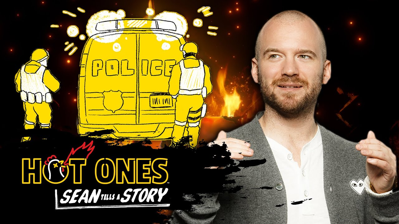 Sean Evans Tells the Story of the Time a SWAT Team Raided His Apartment   Sean Tells A Story