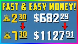 Red Dead Online - How To Make EASY & FAST Money! Earn OVER $500+ An Hour With These Simple Steps!