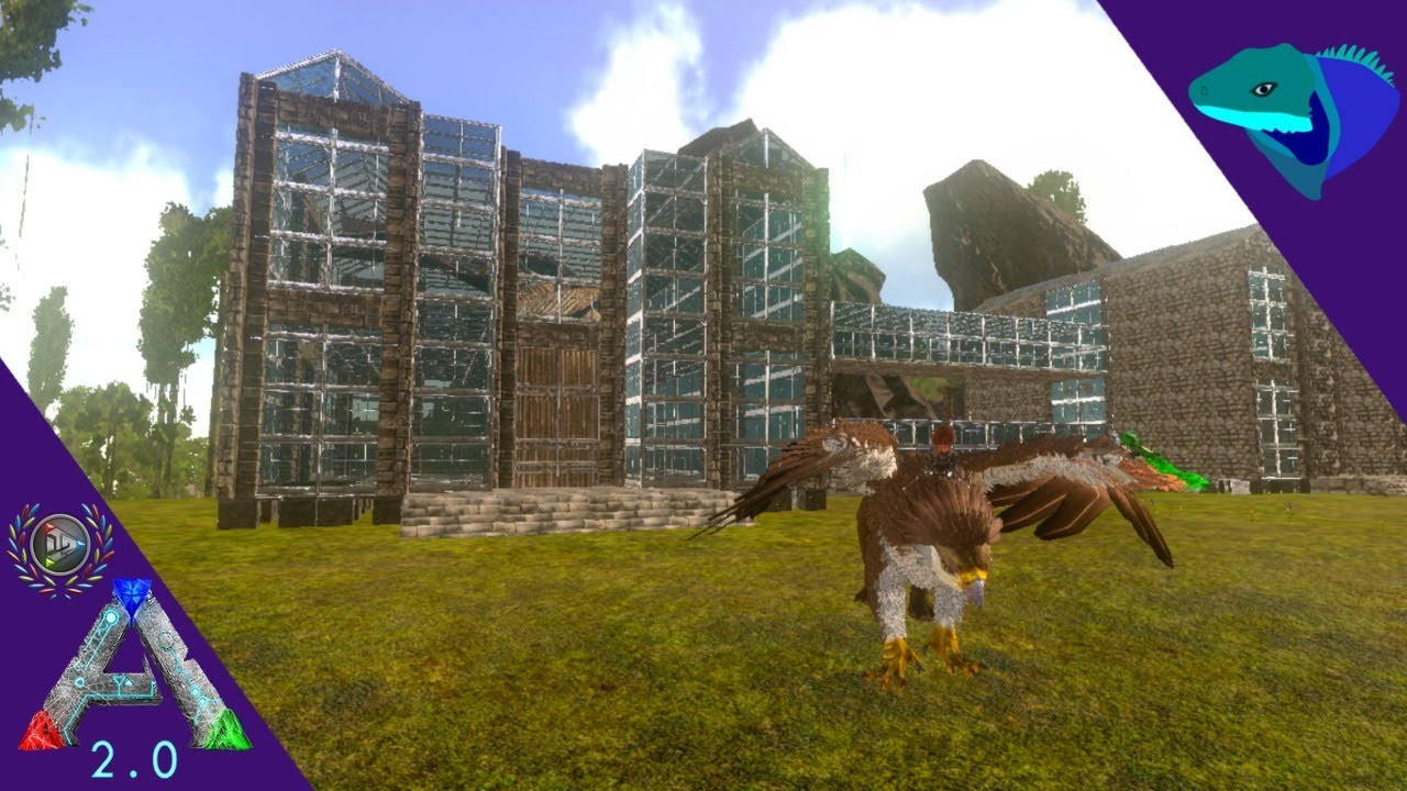 GREENHOUSE BUILDING, TAMING, CAVES!  ARK: Mobile